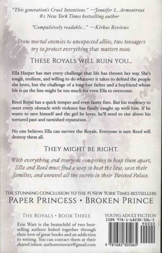 The Royals Tome 3 Twisted Palace
