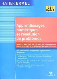 ERMEL et  INRP - Apprentissages numériques et résolution de problèmes CE1.