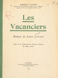 Ernest Lafon et Léon Lafage - Les vacanciers.