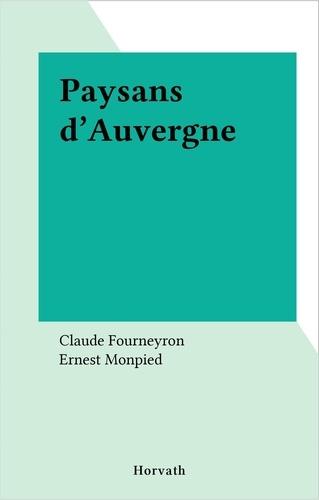 Paysans d'Auvergne