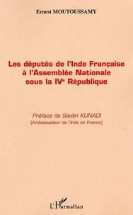 Ernest Moutoussamy - Députés de l'Inde française.