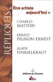 Ernest Pignon-Ernest et Charles Matton - .