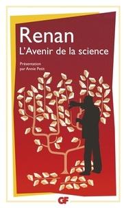 Ernest Renan - L'avenir de la science.