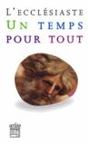Ernest Renan - L'ecclésiaste - Un temps pour tout.