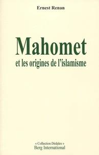Mahomet et les origines de l'islamisme - Ernest Renan pdf epub