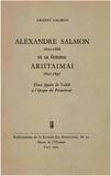 Ernest Salmon - Alexandre Salmon (1820-1866) et sa femme Ariitaimai (1821-1897) - Deux figures de Tahiti à l'époque du Protectorat.