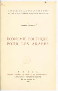 Ernest Teilhac - Économie politique pour les Arabes.