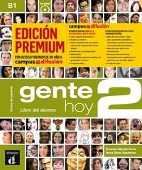 Ernesto Martin Peris et Neus Sans Baulenas - Gente hoy 2 B1 - Libro del alumno. 1 CD audio MP3