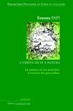 Ernestu Papi - Proverbes de Corse et d'ailleurs - Volume 2, La nature et ses activités à travers les proverbes.