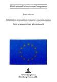Ernst Brückner - Recours en annulation et recours en constatation dans le contentieux administratif.