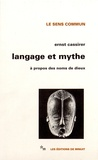 Ernst Cassirer - Langage et mythe - A propos des noms de dieux.