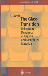 The glass transition. Relaxation dynamics in liquids and disordered materials - Ernst Donth   Showmesound.org
