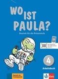 Ernst Endt et Michael Koenig - Wo ist Paula ? Deutsch für die Primarstufe - Arbeitsbuch 4. 1 CD audio