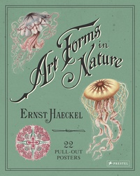 Ernst Haeckel et Kira Uthoff - Art Forms in Nature - 22 pull-out posters.