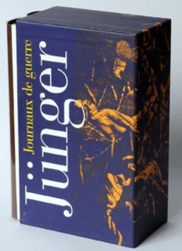 Ernst Jünger - Journaux de guerre - Coffret en 2 volumes : Tome 1, 1914-1918 ; Tome 2, 1939-1948.