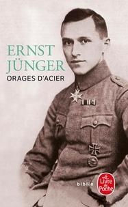 Ernst Jünger - Orages d'acier - Journal de guerre.