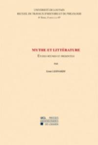 Ernst Leonardy - Mythe et littérature.