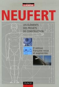 Deedr.fr Ernst Neufert - Les éléments des projets de construction Image