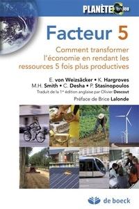 Corridashivernales.be Facteur 5 - Comment transformer l'économie en rendant les ressources 5 fois plus productives Image