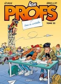 Erroc et  Sti - Les Profs Tome 22 : Tour de contrôles.