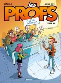 Erroc et  Sti - Les Profs Tome 24 : Oral de rattrapage.