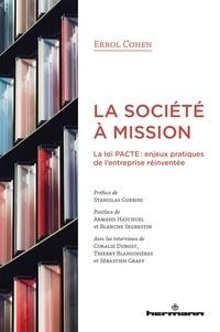Goodtastepolice.fr La société à mission - La loi PACTE : enjeux pratiques de l'entreprise réinventée Image