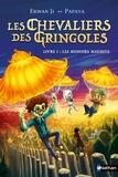 Erwan Ji et  Papaya - GRAND FORMAT DI  : Les chevaliers des Gringoles - Les menhirs maudits - Dès 9 ans.