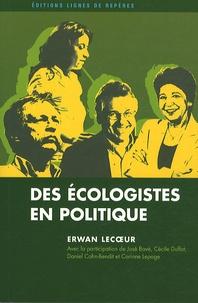 Des écologistes en politique.pdf