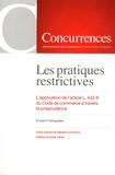 Erwann Kerguelen - Les pratiques restrictives - L'application de l'article L. 442-6 du Code de commerce à travers la jurisprudence.