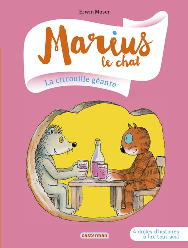 Marius le chat  La citrouille géante