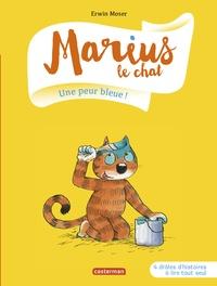 Erwin Moser - Marius le chat Tome 2 : Une peur bleue !.