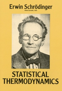 Erwin Schrödinger - Statistical thermodynamics.