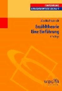 Erzähltheorie - Eine Einführung.