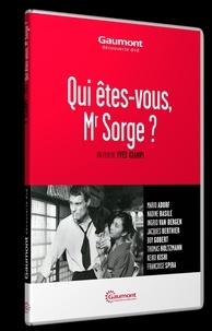 Yves Ciampi - Qui êtes-vous, Mr Sorge ?. 1 DVD