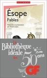 Esope - La bibliothèque idéale des 50 ans GF Tome 14 : Fables - Edition bilingue français-grec ancien.