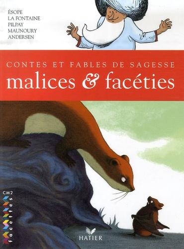 Esope et Jean de La Fontaine - Malices et facéties - Contes et fables de sagesse CM2.