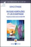 Espace éthique AP-HP et Emmanuel Hirsch - .