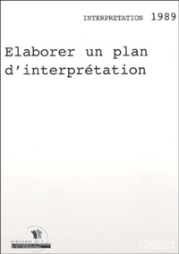 Espace naturel régional - Elaborer un plan d'interprétation.