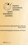 Vincent Houillon et Guy Desplanques - Espace Populations Sociétés N° 2011-3 : Les dynamiques démographiques internes de la France.