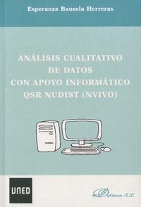 Esperanza Bausela Herreras - Analisis cualitativo de datos con apoyo informatico - QSR nudist (nvivo).