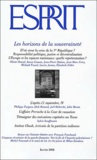Esprit - Esprit N° 281 Janvier 2002 : Les horizons de la souveraineté.