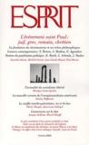 Esprit - Esprit N° 292 Février 2003 : L'événement saint Paul : juif, grec, romain, chrétien.