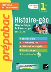 Estelle Djibré et Cécile Gaillard - Prépabac HGGSP 1re générale (spécialité) - nouveau programme de Première.