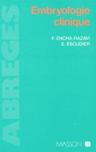 Estelle Escudier et Férechté Encha-Razavi - Embryologie clinique.