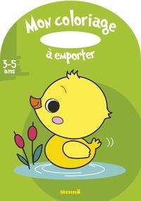Estelle Madeddu - Mon coloriage à emporter canard.