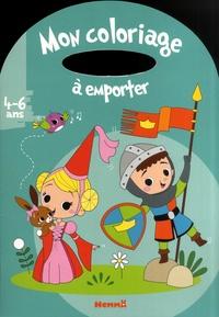 Livres de téléchargements gratuits ipod Mon coloriage à emporter Princesse et chevalier