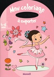 Estelle Madeddu - Mon coloriage à emporter - 4-6 ans fille.