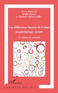 Estelle Masson et Elisabeth Michel-Guillou - Les différentes facettes de l'objet en psychologie sociale - Le cabinet de curiosités.