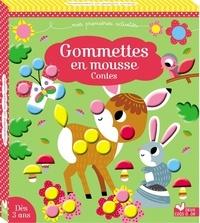 Estelle Tchatcha - Gommettes en mousse - Contes. Avec 5 tableaux à décorer.