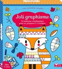Estelle Tchatcha - Joli graphisme - 10 tableaux réutilisables pour se préparer à l'écriture. Avec un feutre effaçable.